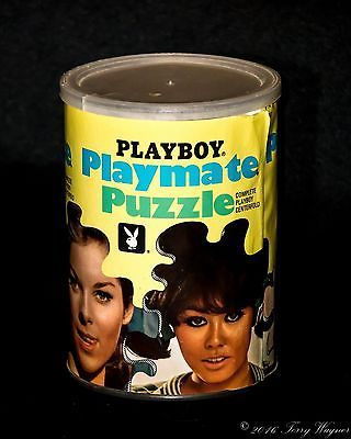 Vintage 1967 PlayBoy Playmate Centerfold Puzzle Can #AP107 from American Publish