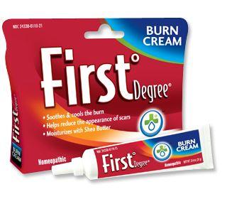 First°Degree® Treatment for Burns| Minor Burn Treatment | Therapeutic Burn Cream