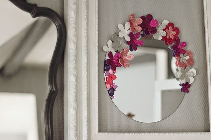 Tiboudnez: ♥ DIY - Un miroir so girly ♥