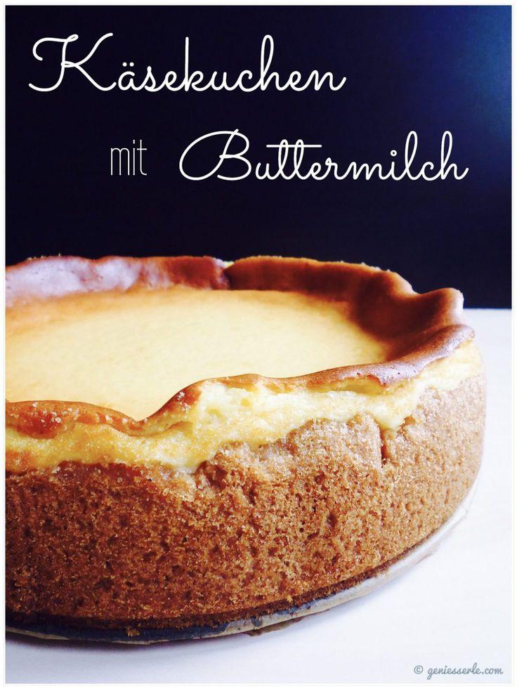 """Dieser Käsekuchen gehört mittlerweile zu den Lieblingskuchen meiner Familie und meine Mutter lässt sich nach wie vor zu Höchstloben hinreissen """"Mhhmmm, der ist wieder so schön fluffig Britt…"""