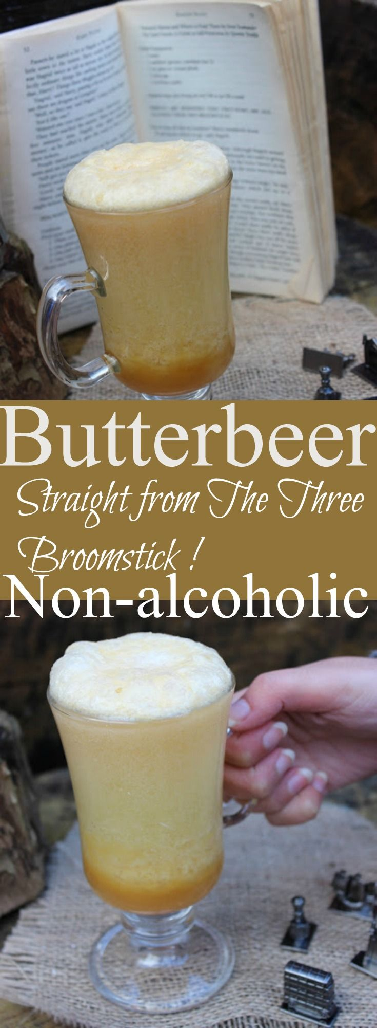 Non alcoholic butterbeer
