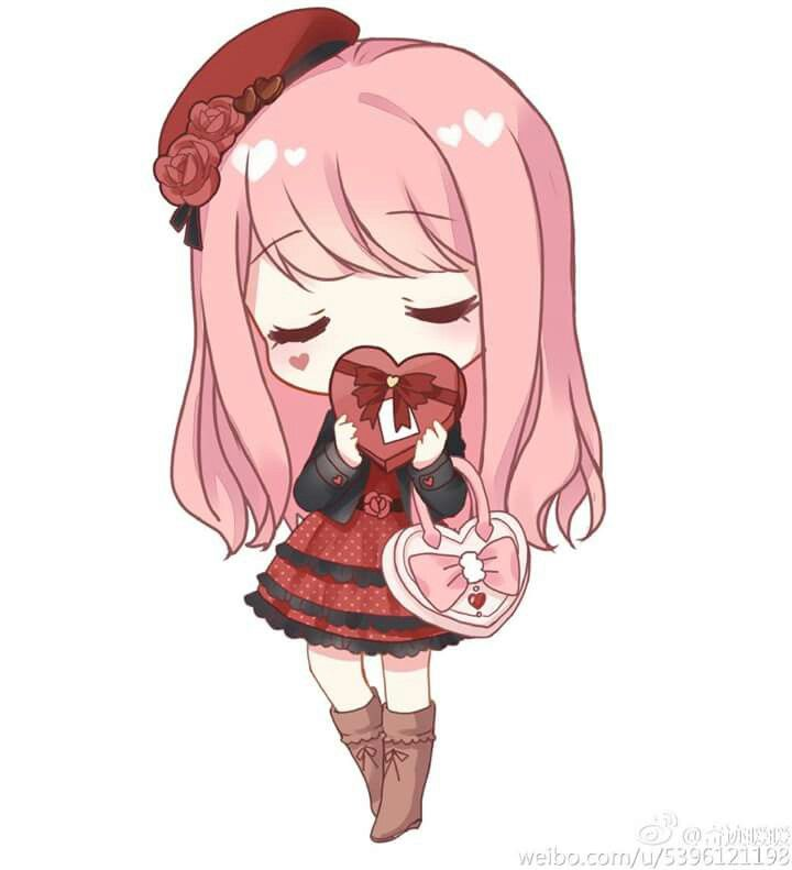 Anime Girl Chibi: 757 Best Images About Chibi♡ On Pinterest