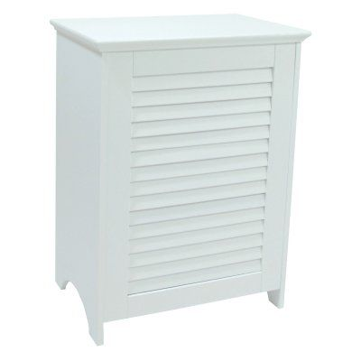 Redmon Contemporary Country Louvered Front Hamper - 5208