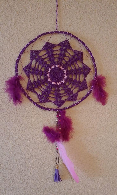 Atrapasueños crochet (2-2)