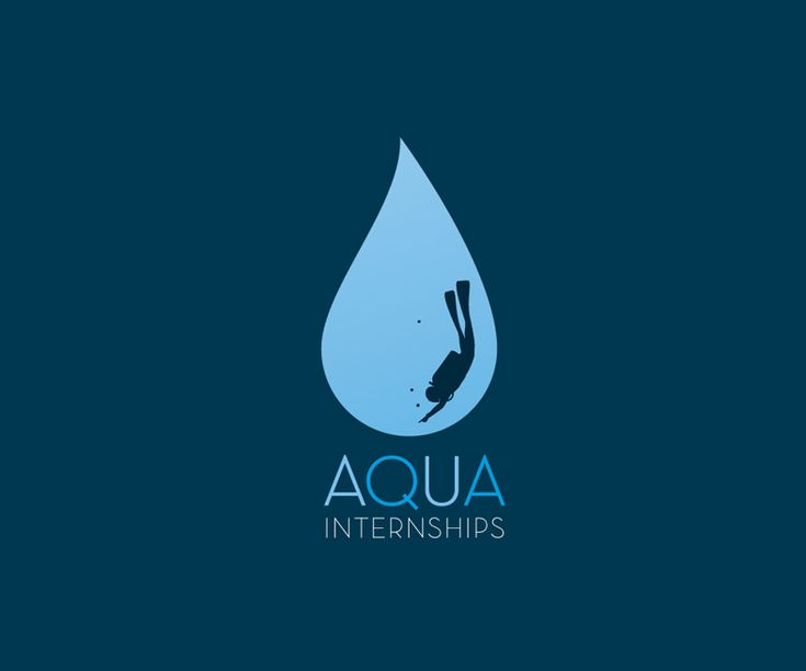 AQUA Diving Center Visual Identity #1 Logo
