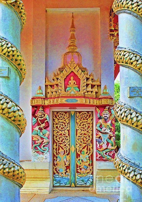 Bophut Temple in Koh Samui, Thailand~ .....rh