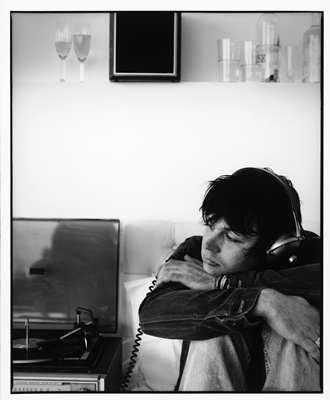 Ryan Adams. Listenin' to some tunes. Chillin'.