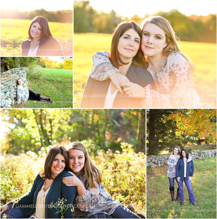 CT senior family photographer {Denise Gammell Photography} mother daughter portrait session teen what to wear