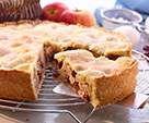 Gedeckter Apfelkuchen von berna03 auf www.rezeptwelt.de, der Thermomix ® Community