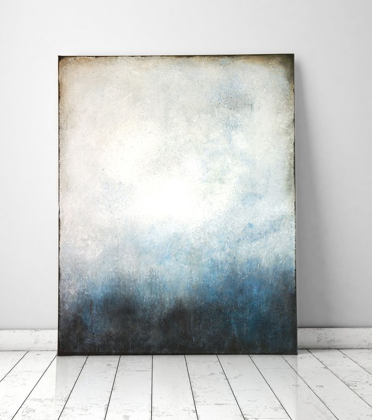 Blue mist, 100x80 cm by Stellan Kristiansson