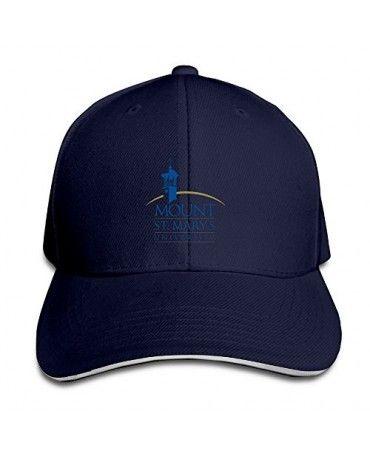 Navy 101dog Mount St. Mary's University MSM Unisex Adjustable Golf Caps Ash Hot Selling Cap