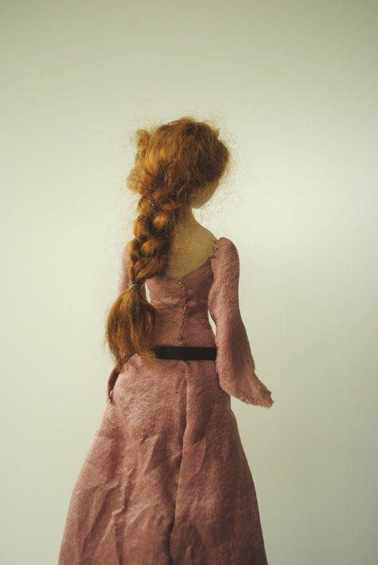 Handmade cloth doll by Willowynn