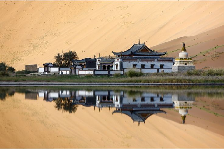 An Exciting trekking tour through the Badain Jaran Desert with camel and explore the most beautiful deserts in China.