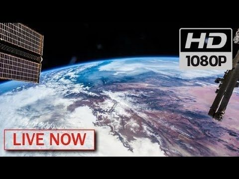 """REAL ISS LIVE STREAM : Nasa """"Earth From Space"""" video - LIVE ISS Feed International Space Station - YouTube"""