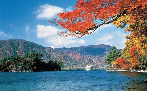 El lago Towada en Japón