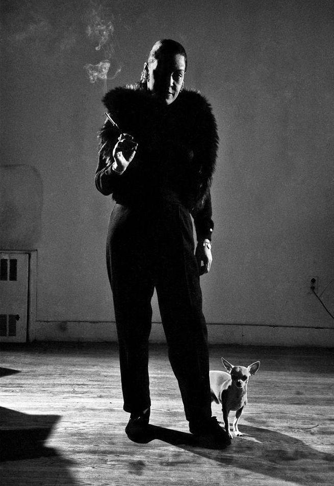 Billie Holiday ~ 1958. Photographer: Dennis Stock. Veja também…