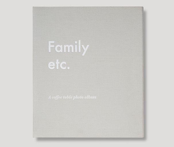 Family etc. – A Coffee Table Photo Album