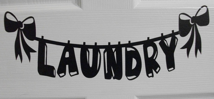 laundry title custom made by moi!