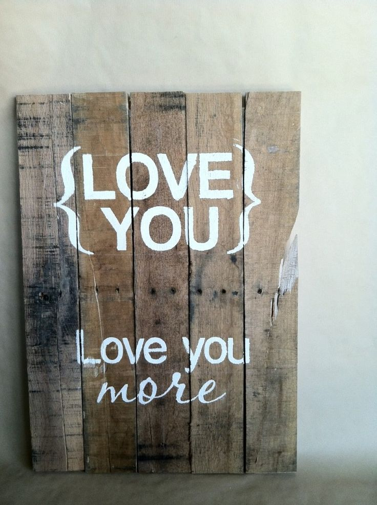 DIY Pallet Art~Stuff to make from pallets