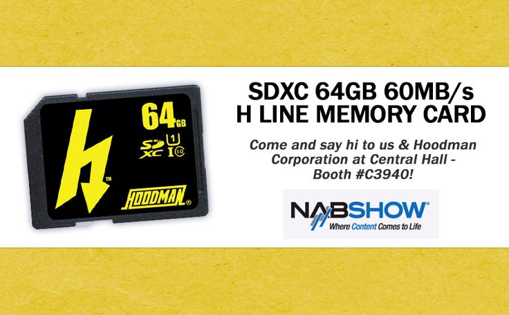 Hoodman H Line 64GB memory cards http://mxmexpress.com/product.php?id_product=179