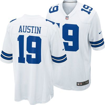 Fanzz Sports Apparel,Dallas Cowboys Miles Austin #19 Replica Game Jersey (White) NFL, NBA, MLB Apparel, NFL, MLB, NBA Jerseys and Merchandise, NHL Shop | Fanzz