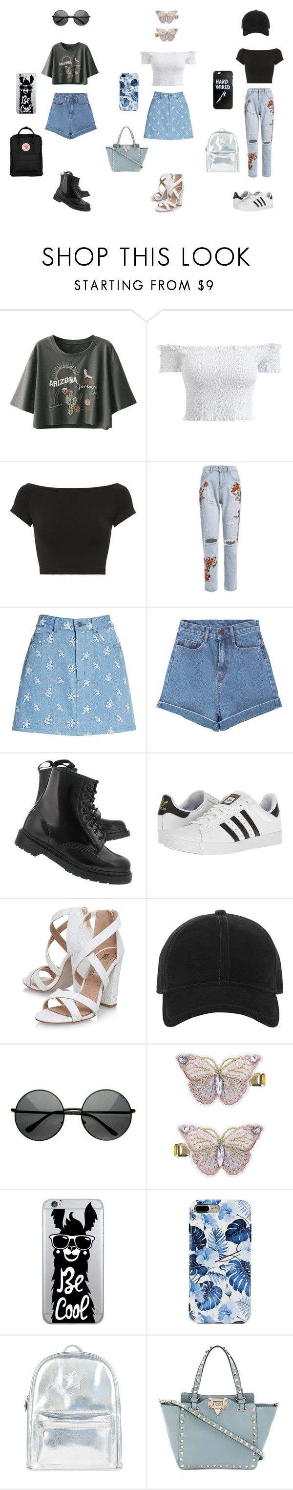 """Say i hate you but with love"" by withered-faces on Polyvore featuring moda, Helmut Lang, Marc Jacobs, Pink Stitch, Dr. Martens, adidas, Miss KG, rag & bone, Monsoon y OTM Essentials"