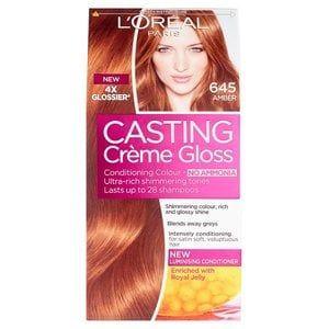 Casting Creme Gloss 645 Amber Auburn Semi Permanent Hair Dye