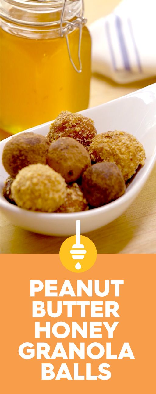 Snack time just got sweeter. Whip up a treat no one can resist with Peanut Butter Honey Granola Balls. Combine rich peanut butter and crunchy granola with the naturally sweet taste of honey. Yum!