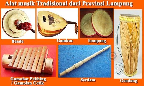 52+ Gambar Alat Musik Lampung HD