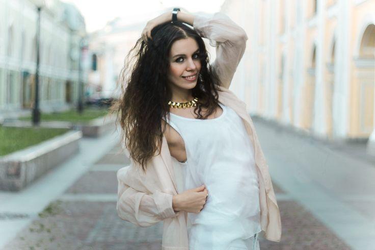 model Maryana Dan, St. petersburg, Russia