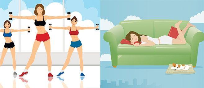 Petit guide de survie à la crise du quart de vie… quand tout le monde s'entraîne sauf vous! | Marie Eve Gosemick (Poutine pour emporter) | Clindoeil.ca #société #trentaine #santé #fitness #wellness #bienêtre #course #yoga #gym #enforme #entraînement #paresse #fatigue #motivation #succès #réussite #vdm #viedemerde #échec #fail