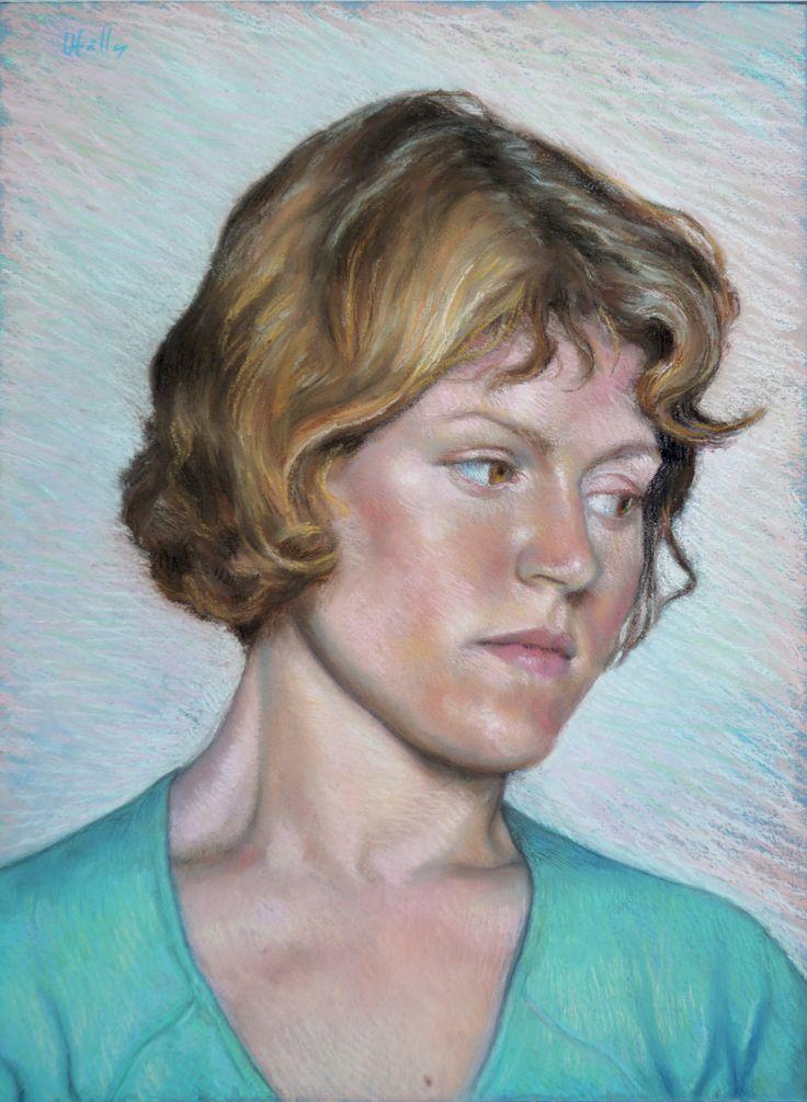 Pastel on paper - 50 x 40 cm