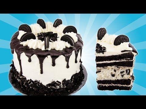 Oreo Cake Recipe from Cookies Cupcakes and Cardio - YouTube