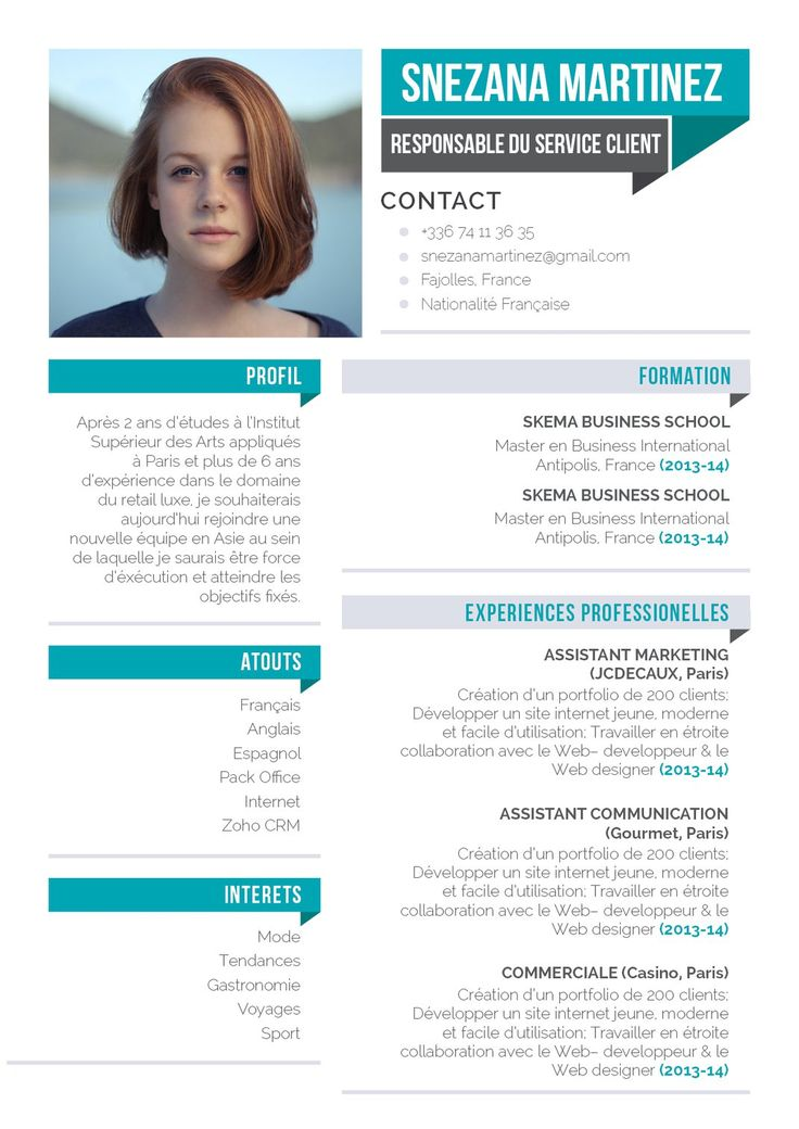 best 25  modele de cv original ideas on pinterest