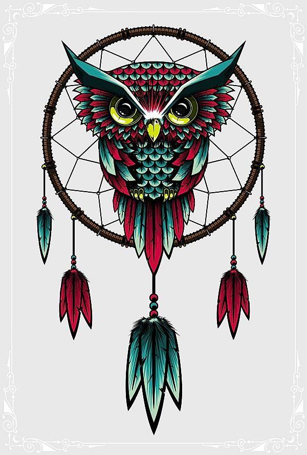 Owl Illustrations & Artworks  http://abduzeedo.com/owl-illustrations-artworks  #owls #illustrations
