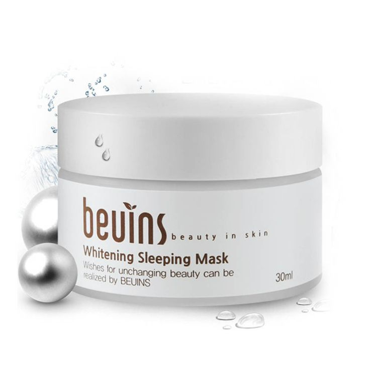 beuins Whitening Sleeping Mask 30ml Dull Skin Facial Care Pack k-beauty  #Beuins