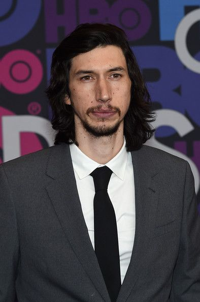 """Adam's hair looks a bit longer than usual.   Adam Driver Photos - Adam Driver attends the """"Girls"""" season four series premiere at American Museum of Natural History on January 5, 2015 in New York City. - 'Girls' Season 4 Premiere in NYC"""