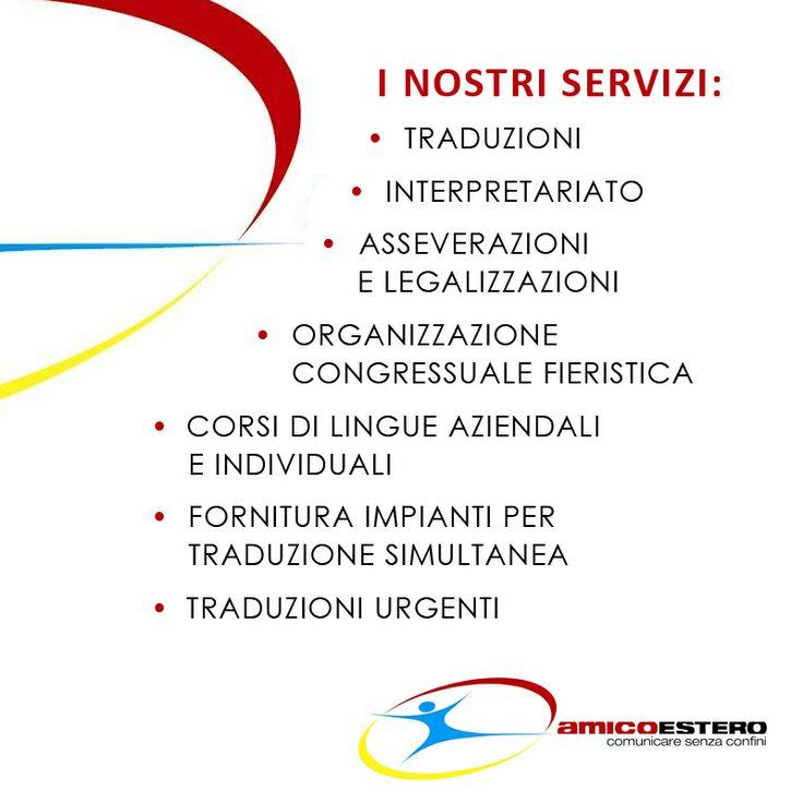 I nostri servizi!