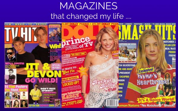 How exactly did I get my start in the media industry? In today's Getting Personal post I share how magazines started it all. Read and enter to win a Magshop subscription!  #bbloggers #magazine #competition