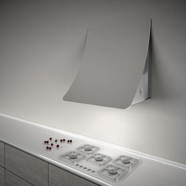 Cappe: Cappa Nuage da Elica | Design: Fabrizio Crisà | Anno: 2014 | #cucina #design #isaloni #salonedelmobile #2014 #MilanoDesignWeek #trend #eurocucina |