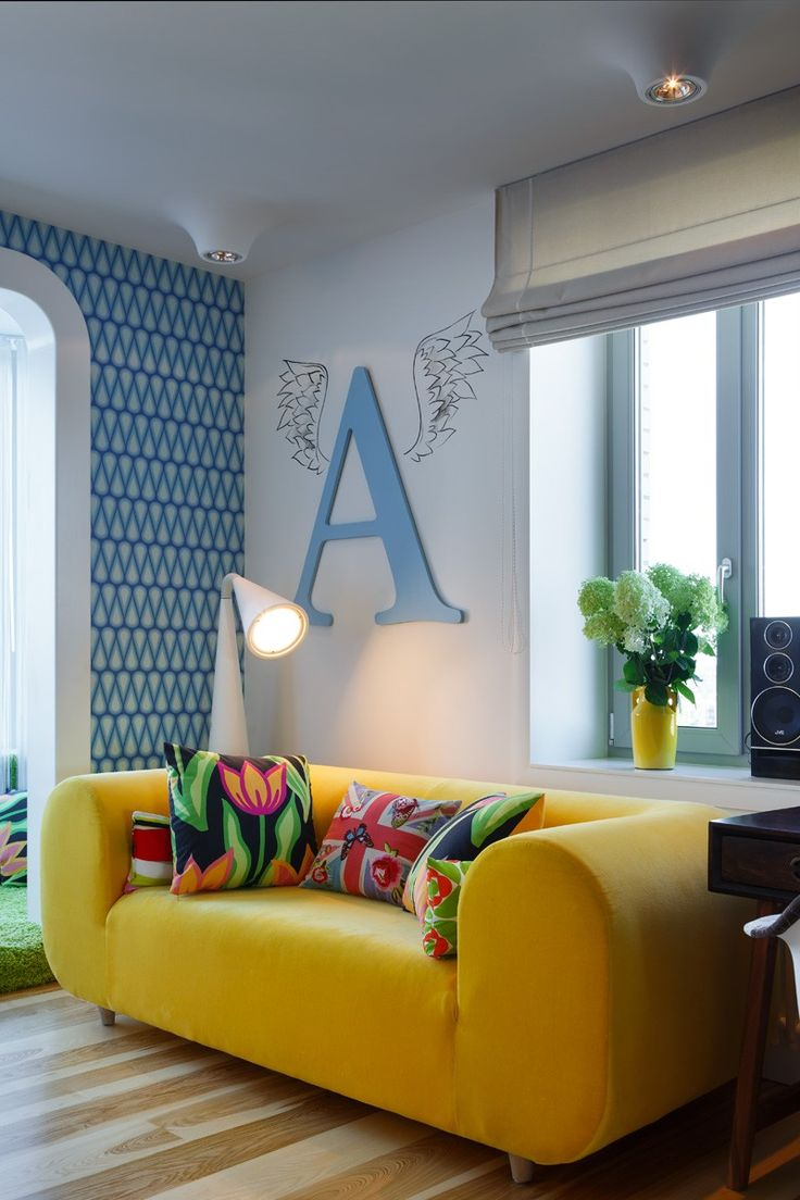 A Bright And Colorful Apartment For A Family In Russia