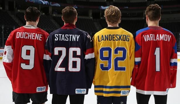 Avs Olympic Players
