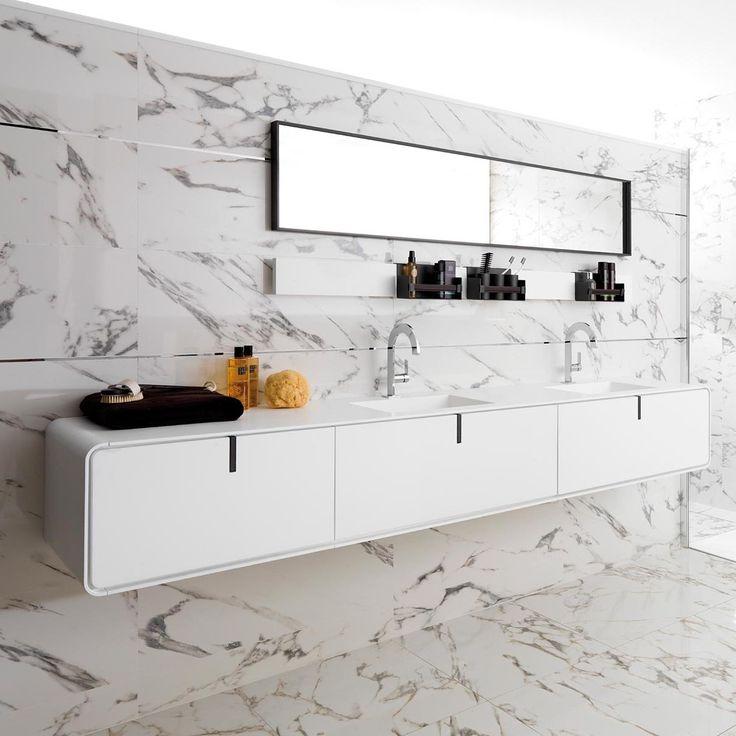 Doppel-Waschtischunterschrank / hängend / Holz / modern CICLO GAMADECOR by Porcelanosa