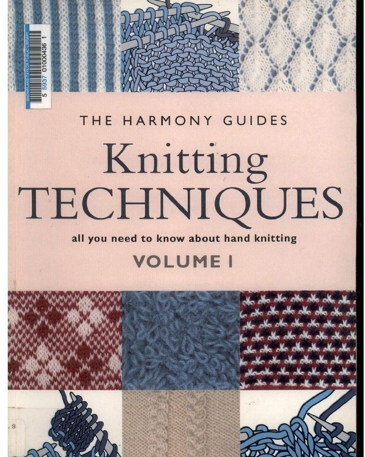 Knitting techniques Harmony guides Free dl