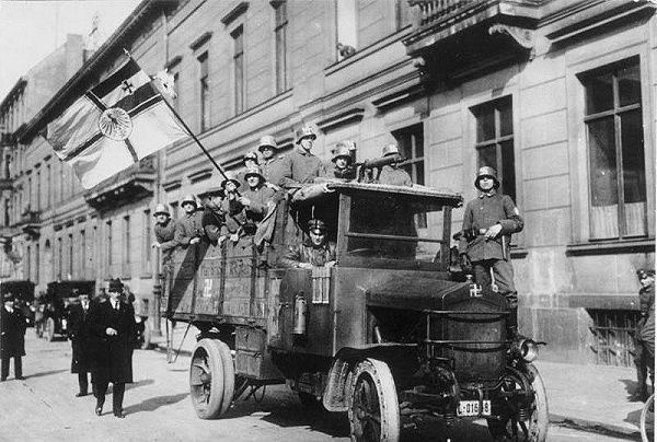 The Erhardt Brigade From Bundesarchiv Bild German