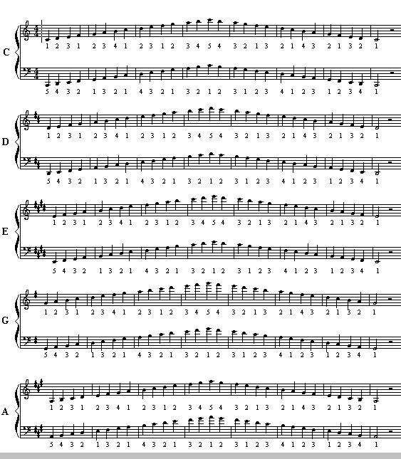 Best 25 Trumpet Music Ideas On Pinterest: Best 25+ Piano Scales Ideas On Pinterest