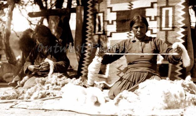 Image Detail for - Navajo Weaver Photo 2