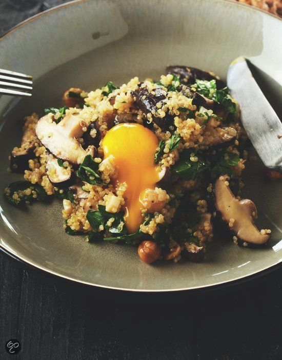 Quinoa met shiitakes uit Puur genieten 2, Pascale Naessens. #Food #Healthy #Quinoa