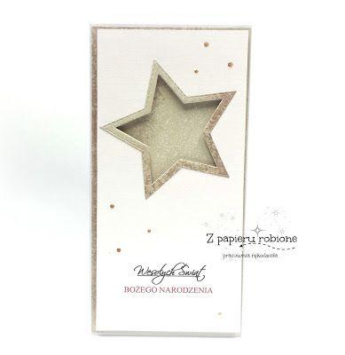 z papieru robione ... christmas card / kartka świateczna
