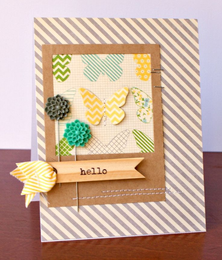 Superb Card Making Inspiration Ideas Part - 6: Jenny Evans: Jillibean Soup | Projects - Hello Card